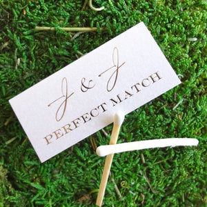 Custom Personalized Favor Matches