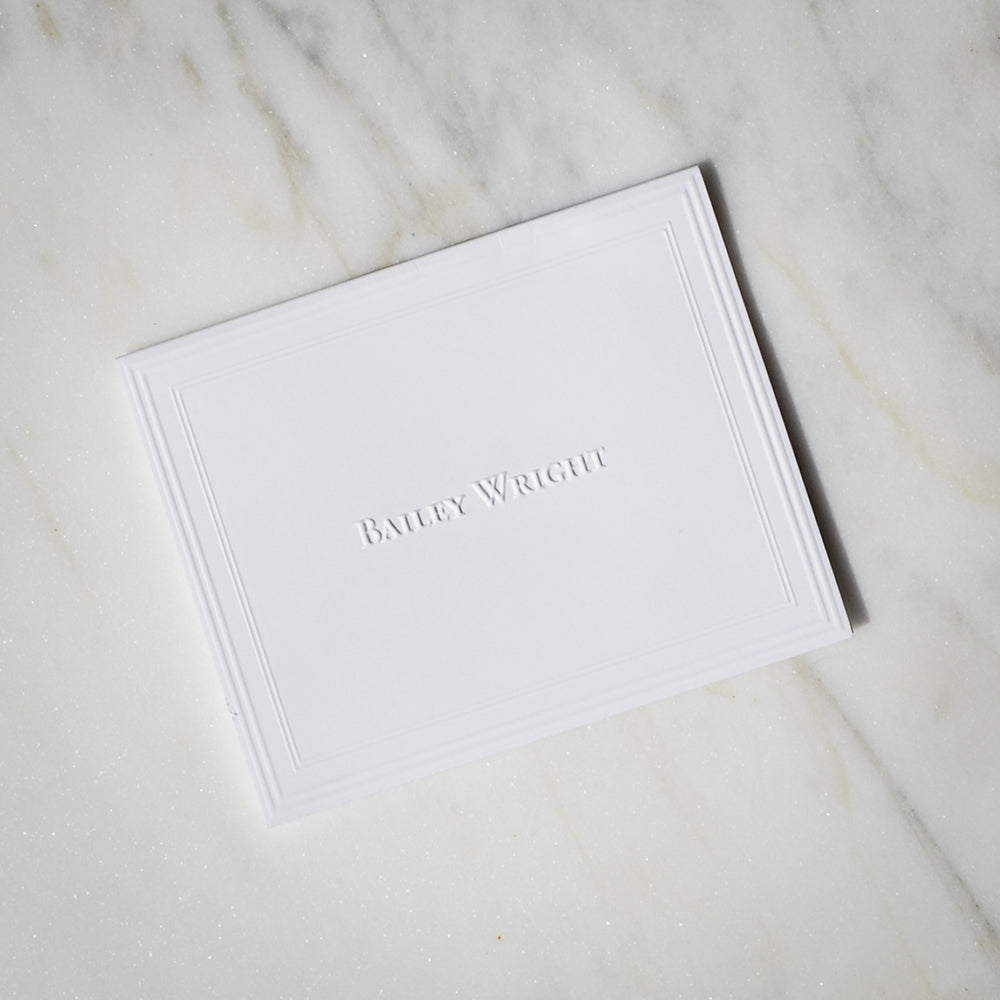 photo relating to Embossed Stationery identified as Custom made Embossed Stationery Mounted