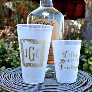 Personalized Frost-Flex Party Cups