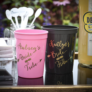 Personalized Bachelorette Cups