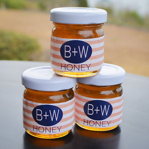 Personalized Honey Jar Favors