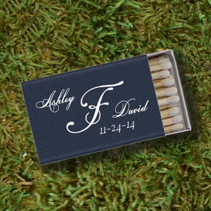 Custom Script Wedding Matches