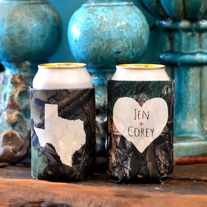 Personalized Drunk On Love Party Can Coolers