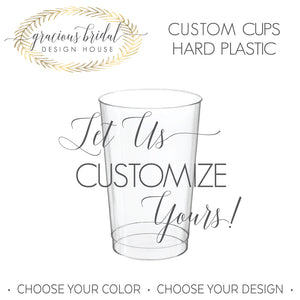 Custom Hard Plastic Cups
