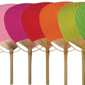 Colorful Paper Handheld Fans