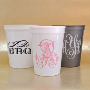 Printed Custom Plastic Party Cups