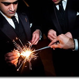 "20"" Wedding Sparklers - 8 per Sleeve"