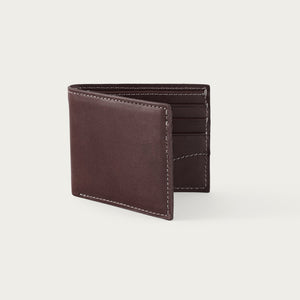 White Wing Leather Bi-Fold Wallet