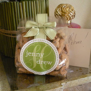 Large Personalized Cookie Bags