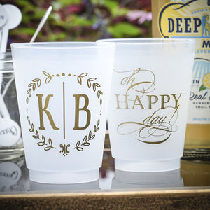 Completely Customizable Shatterproof Party Cups