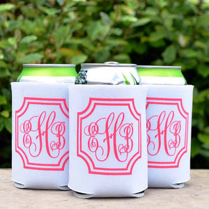 Personalized Wedding Favor Can Coolers