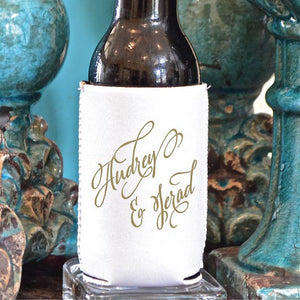 Custom Printed Party Favor Can Coolers