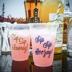 Custom Printed Party Drink Cups