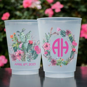 Full Color Cactus Shatterproof Cups