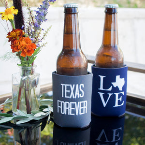 Personalized Texas Forever Can Coolers