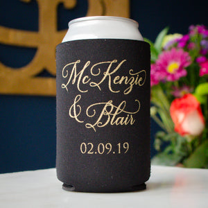 Wedding Can Cooler Party Favors