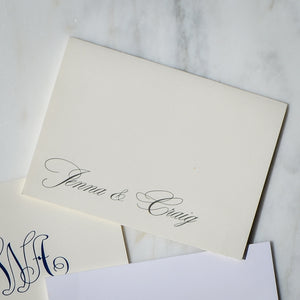 Custom Stationery Notes with Name