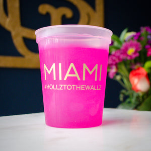 Bachelorette Party Color Changing Mood Cups