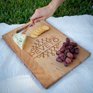 Custom Serving Board