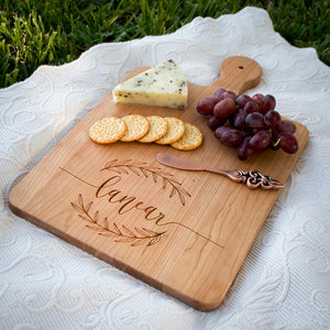 Handwritten Recipe Wood Cutting Board