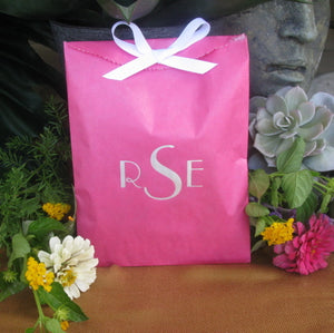 Custom Printed Wedding Favor Bag