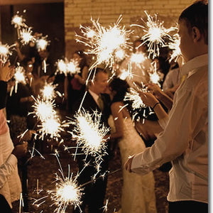"10"" Wedding Sparklers - 6 per Sleeve"