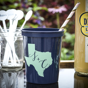Choose Your State Printed Cups