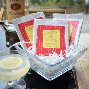 Custom Lemon Drop Cocktail Mix Favors
