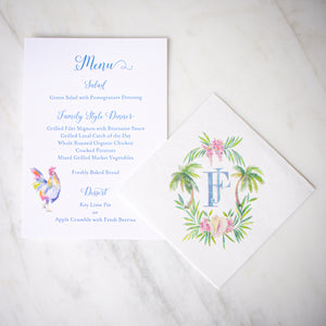 Full Color Printed Menus