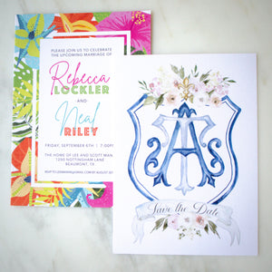 Full Color Party Invitations