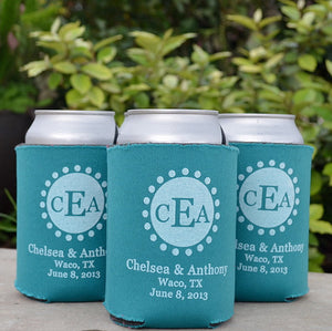 Custom Party Favor Can Coolers