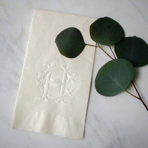 Custom Embossed Guest Towels