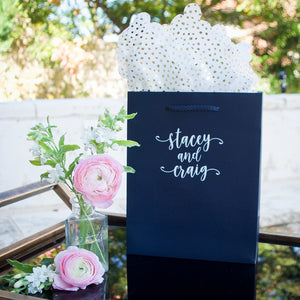 Bride and Groom's Wedding Welcome Bag
