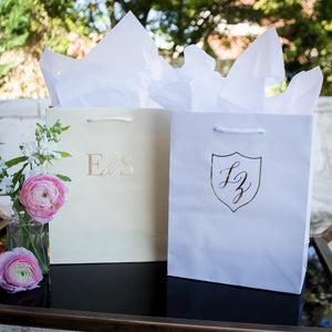 Personalized Duogram Wedding Bags