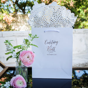 Wedding Couple Customized Welcome Bags