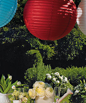 Colorful Round Paper Lanterns