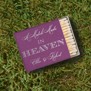 "Custom ""Match Made in Heaven"" Matches"