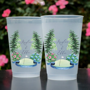 Custom Full Color Frosted Cups
