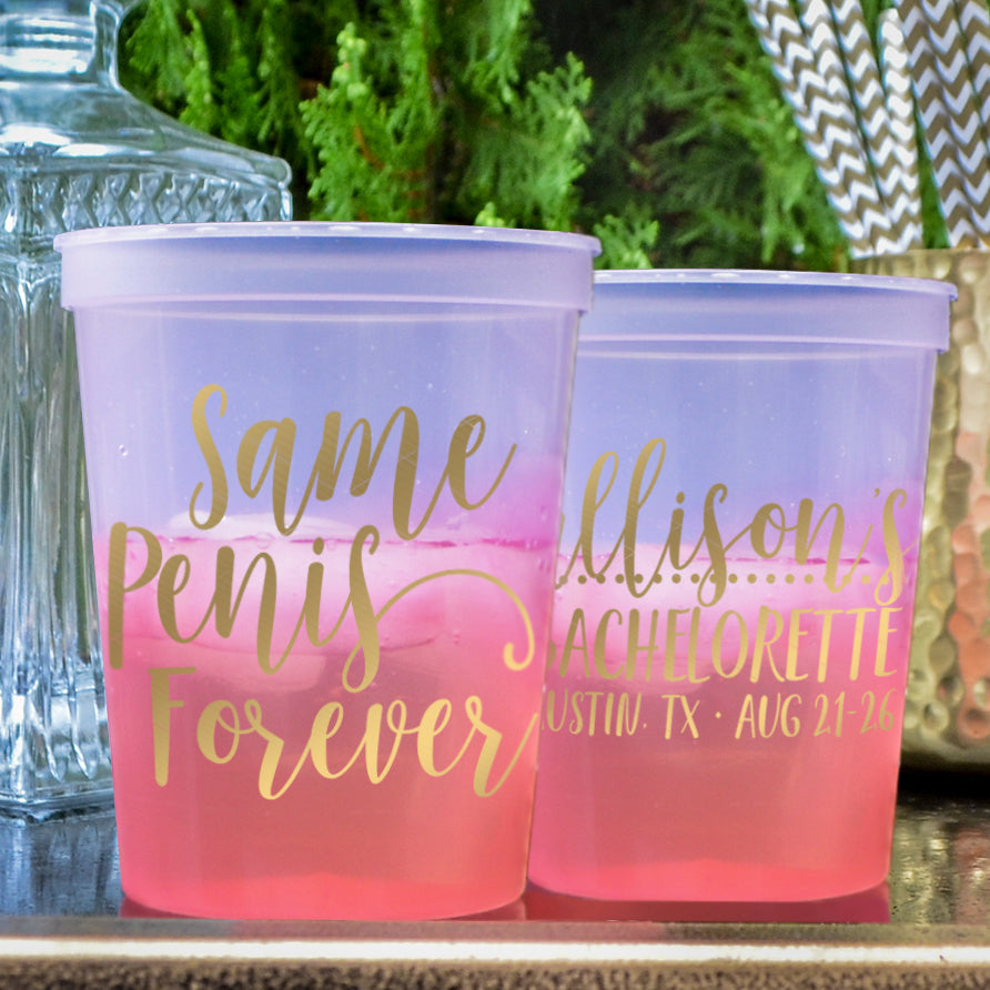 Stadium Cups - Gracious Bridal Design House