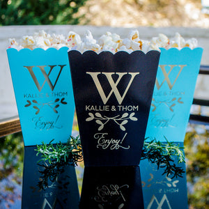 Foil Printed Popcorn Boxes