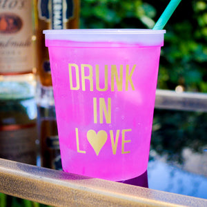 Drunk In Love Bachelorette Party Cups