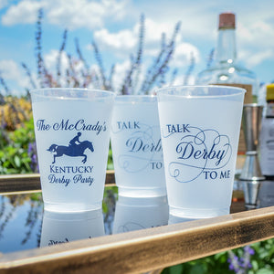 Kentucky Derby Shatterproof Party Cups