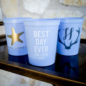 Best Day Ever Stadium Cups