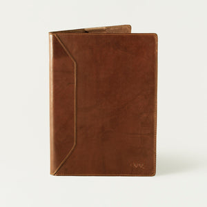 White Wing Leather Large Padfolio