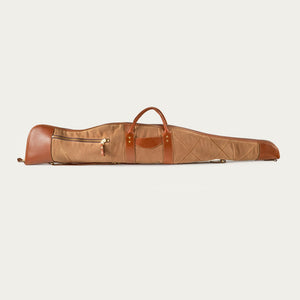 White Wing Leather & Canvas Rifle Case