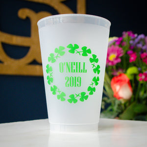 St. Patrick's Day Party Shatterproof Plastic Cups Party Favors