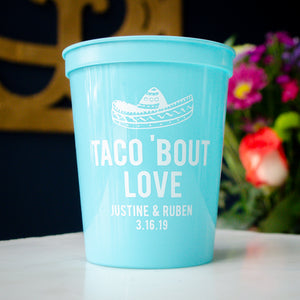 Taco 'Bout Love Stadium Cups