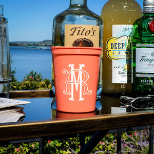 Interlocking Monogram Stadium Party Cups
