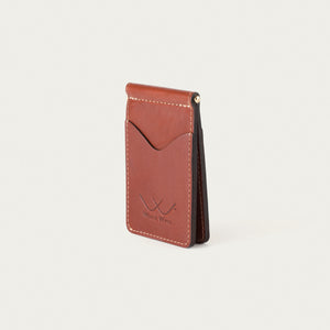 White Wing Personalized Leather Wallet