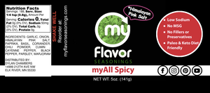 myAll Spicy Seasoning